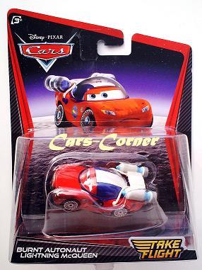 Burnt Autonaut Lightning McQueen