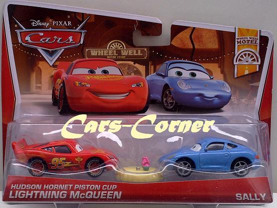 Sally & Hudson Hornet Piston Cup Lightning McQueen