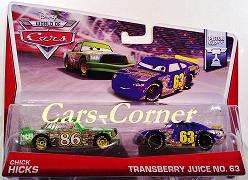Chick Hicks & Transberry Juice No. 63 - World of Cars 2014