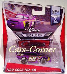 N2O Cola No. 68 + World of Cars