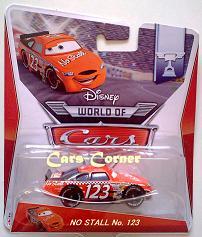 No Stall No. 123 + World of Cars