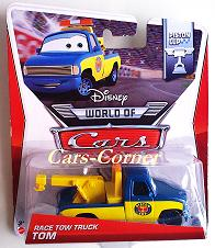 Race Tow Truck Tom - World of Cars 2014